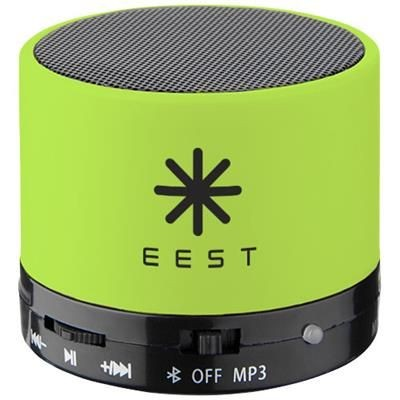 Picture of DUCK CYLINDER BLUETOOTH® SPEAKER with Rubber Finish in Lime