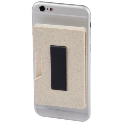 Picture of GRASS RFID MULTI CARD HOLDER in Beige
