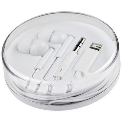 Picture of SWITCH EARBUDS with Multi Tips in White Solid