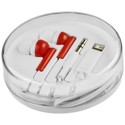 Picture of SWITCH EARBUDS with Multi Tips in Red