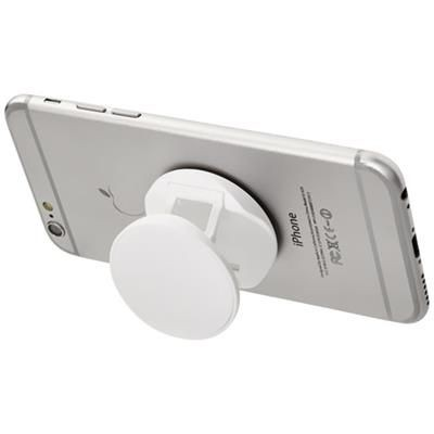 Picture of BRACE PHONE STAND with Grip in White Solid