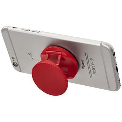 Picture of BRACE PHONE STAND with Grip in Red
