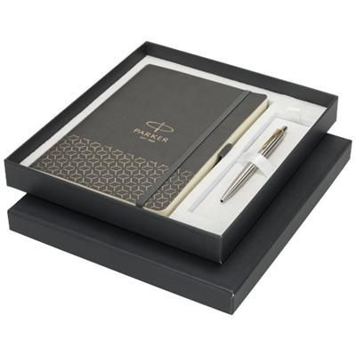 Picture of GIFT BOX INCLUDING A5-SIZE NOTE BOOK in Grey