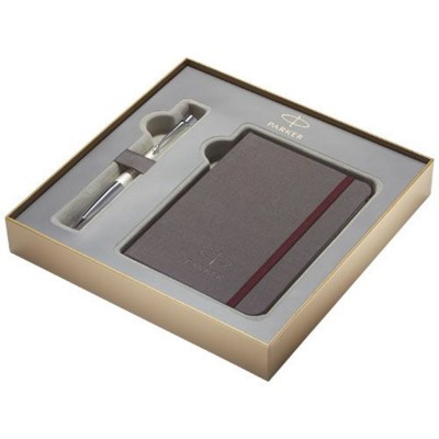 Picture of NOTE BOOK GIFT SET BOX in Anthracite Grey