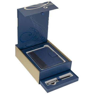 Picture of TRAVEL NOTE BOOK GIFT SET in Blue