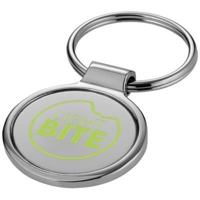 Picture of ORLENE ROUND KEYRING CHAIN in Silver