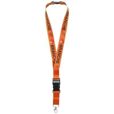Picture of YOGI LANYARD DETACHABLE BUCKLE BREAK-AWAY CLOSURE in Orange