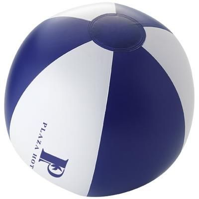 Picture of PALMA SOLID BEACH BALL in Navy-white Solid