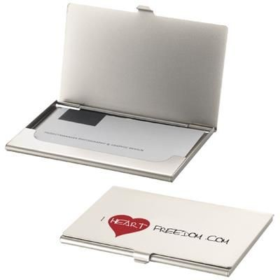Picture of SINGAPORE BUSINESS CARD HOLDER in Silver