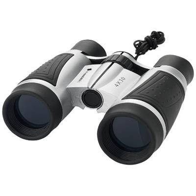Picture of TODD 4 X 30 BINOCULARS in Silver-black Solid