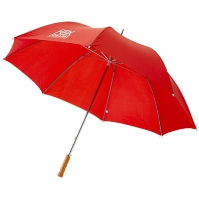 Picture of KARL 30 GOLF UMBRELLA with Wood Handle in Red