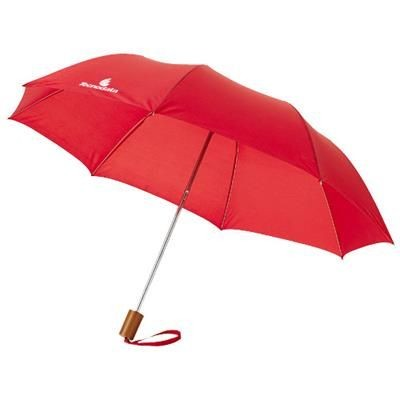Picture of OHO 20 FOLDING UMBRELLA in Red