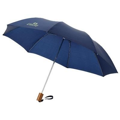 Picture of OHO 20 FOLDING UMBRELLA in Navy
