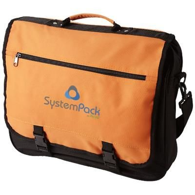 Picture of ANCHORAGE 2-BUCKLE CLOSURE CONFERENCE BAG in Orange