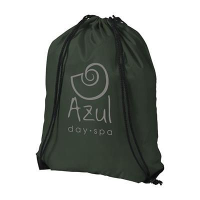 Picture of ORIOLE PREMIUM DRAWSTRING BACKPACK RUCKSACK in Green