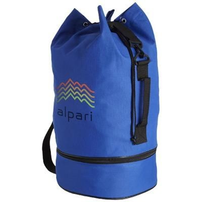 Picture of IDAHO SAILOR ZIPPERED BOTTOM DUFFLE BAG in Royal Blue