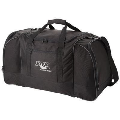 Picture of NEVADA TRAVEL DUFFLE BAG in Black Solid