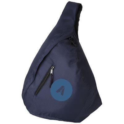 Picture of BROOKLYN MONO-SHOULDER BACKPACK RUCKSACK in Navy