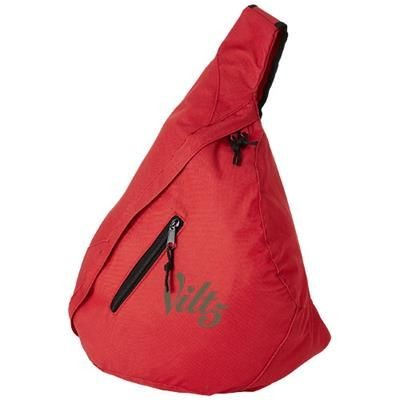 Picture of BROOKLYN MONO-SHOULDER BACKPACK RUCKSACK in Red
