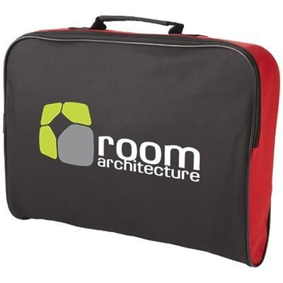 Picture of FLORIDA CONFERENCE BAG in Black Solid-red