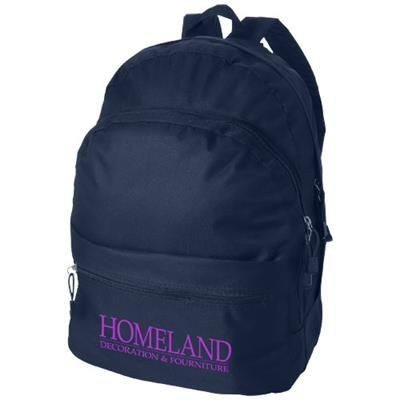 Picture of TREND 4-COMPARTMENT BACKPACK RUCKSACK in Navy