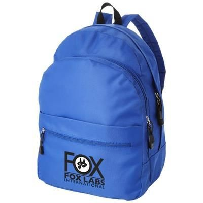 Picture of TREND 4-COMPARTMENT BACKPACK RUCKSACK in Royal Blue