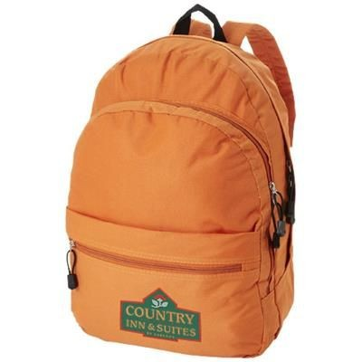 Picture of TREND 4-COMPARTMENT BACKPACK RUCKSACK in Orange