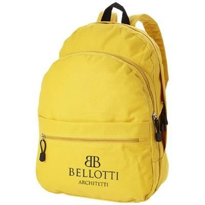 Picture of TREND 4-COMPARTMENT BACKPACK RUCKSACK in Yellow
