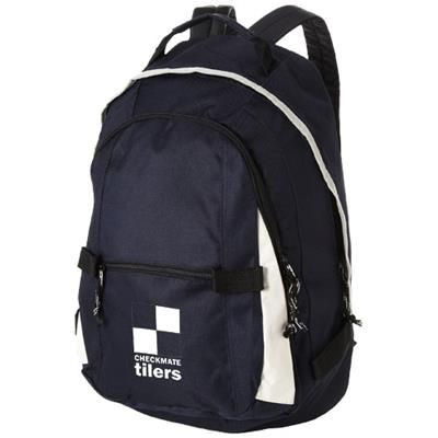 Picture of COLORADO COVERED ZIPPER BACKPACK RUCKSACK in Navy