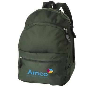 Picture of TREND 4-COMPARTMENT BACKPACK RUCKSACK in Green