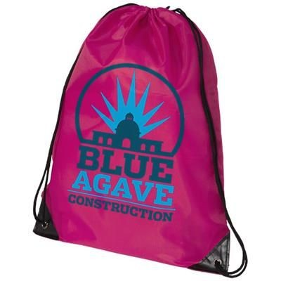 Picture of ORIOLE PREMIUM DRAWSTRING BACKPACK RUCKSACK in Magenta