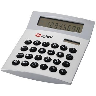 Picture of FACE-IT CALCULATOR in Silver