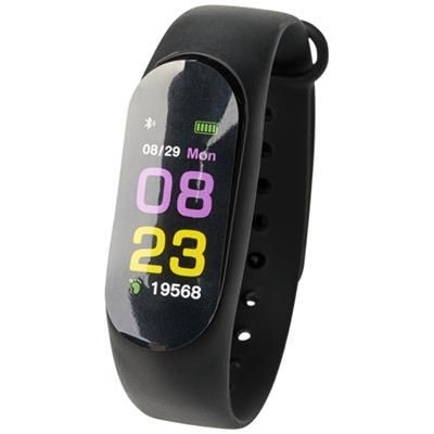 Picture of PRIXTON AT803 COLOUR ACTIVITY TRACKER in Black Solid