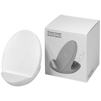 Picture of S10 BLUETOOTH® 3-FUNCTION SPEAKER in White Solid