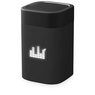 Picture of SCX DESIGN S30 5W LIGHT-UP CLEVER SPEAKER in Solid Black