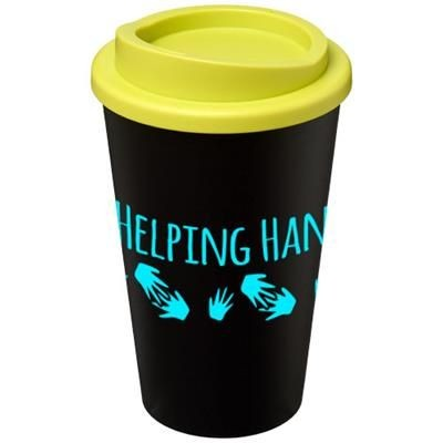 Picture of AMERICANO® 350 ML THERMAL INSULATED TUMBLER in Black Solid-lime