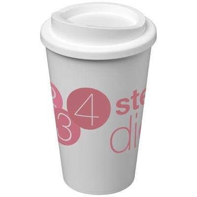 Picture of AMERICANO® 350 ML THERMAL INSULATED TUMBLER in White Solid