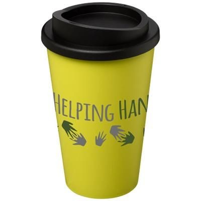 Picture of AMERICANO® 350 ML THERMAL INSULATED TUMBLER in Lime-black Solid