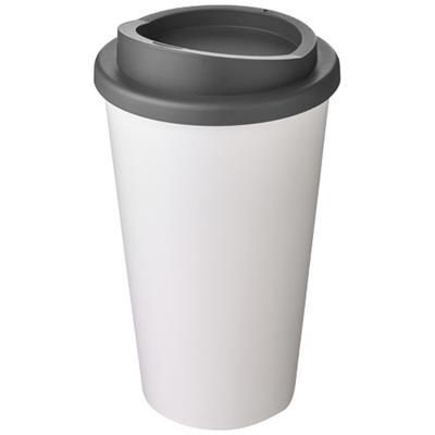 Picture of AMERICANO® 350 ML THERMAL INSULATED TUMBLER in White Solid-grey