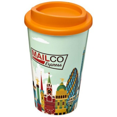 Picture of BRITE-AMERICANO® 350 ML THERMAL INSULATED TUMBLER in Orange