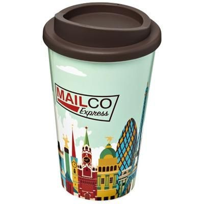 Picture of BRITE-AMERICANO® 350 ML THERMAL INSULATED TUMBLER in Brown