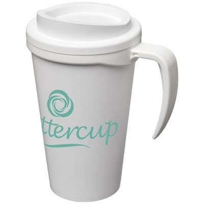 Picture of AMERICANO® GRANDE 350 ML THERMAL INSULATED MUG in White Solid