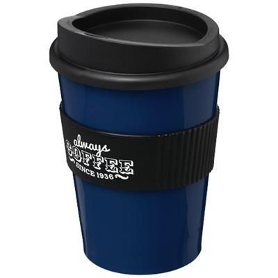 Picture of AMERICANO® MEDIO 300 ML TUMBLER with Grip in Blue-black Solid