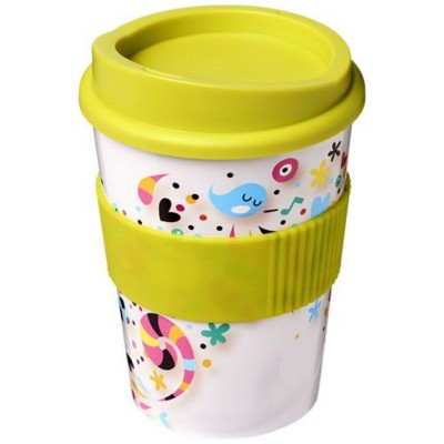 Picture of BRITE-AMERICANO® MEDIO 300 ML TUMBLER with Grip in Lime