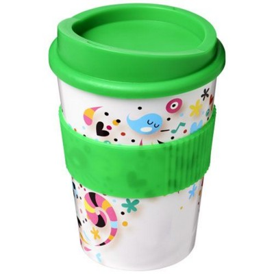 Picture of BRITE-AMERICANO® MEDIO 300 ML TUMBLER with Grip in Green