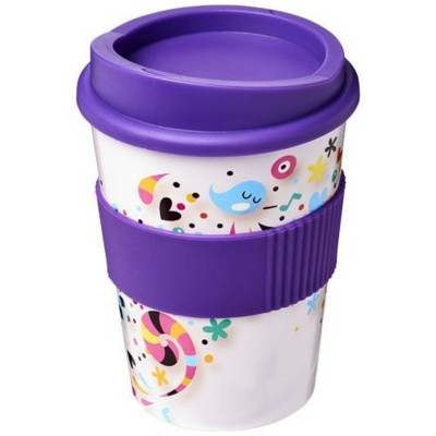 Picture of BRITE-AMERICANO® MEDIO 300 ML TUMBLER with Grip in Purple
