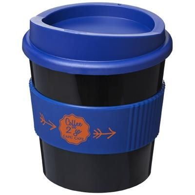 Picture of AMERICANO® PRIMO 250 ML TUMBLER with Grip in Black Solid-blue