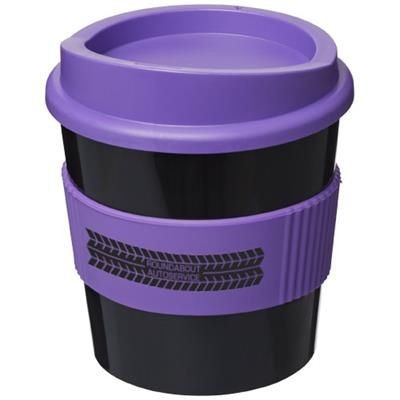 Picture of AMERICANO® PRIMO 250 ML TUMBLER with Grip in Black Solid-purple