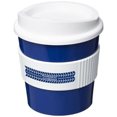 Picture of AMERICANO® PRIMO 250 ML TUMBLER with Grip in Blue-white Solid
