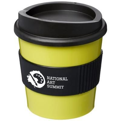 Picture of AMERICANO® PRIMO 250 ML TUMBLER with Grip in Lime-black Solid